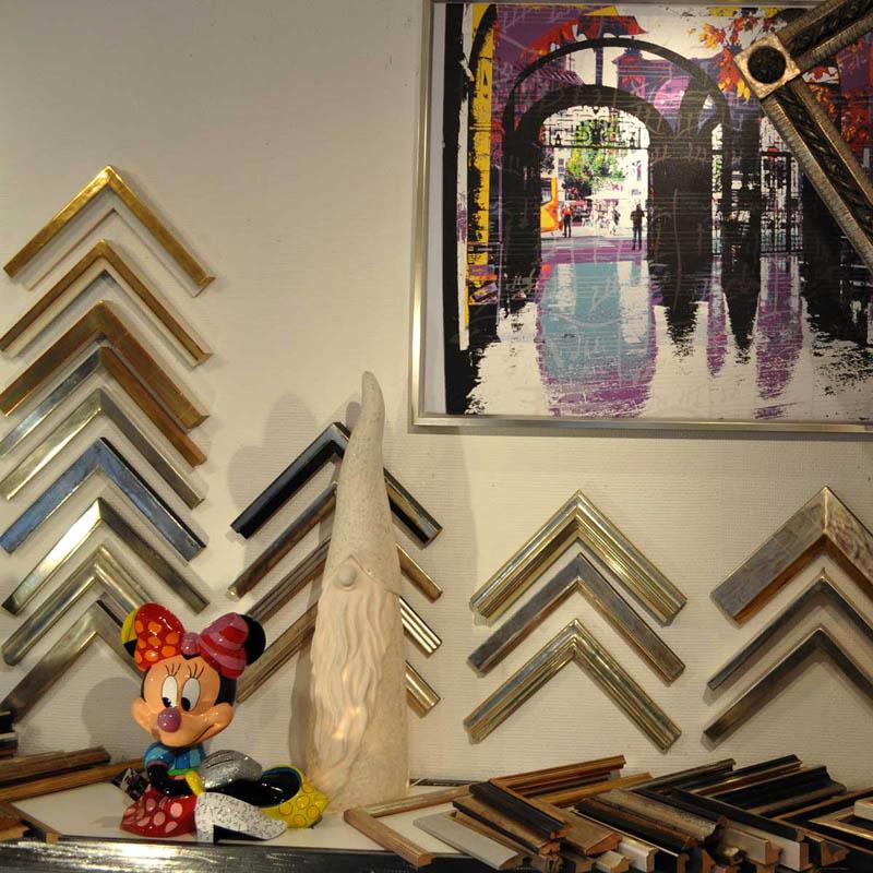 Seit 40 Jahren Einrahmungen aller Art | Galerie-Firla