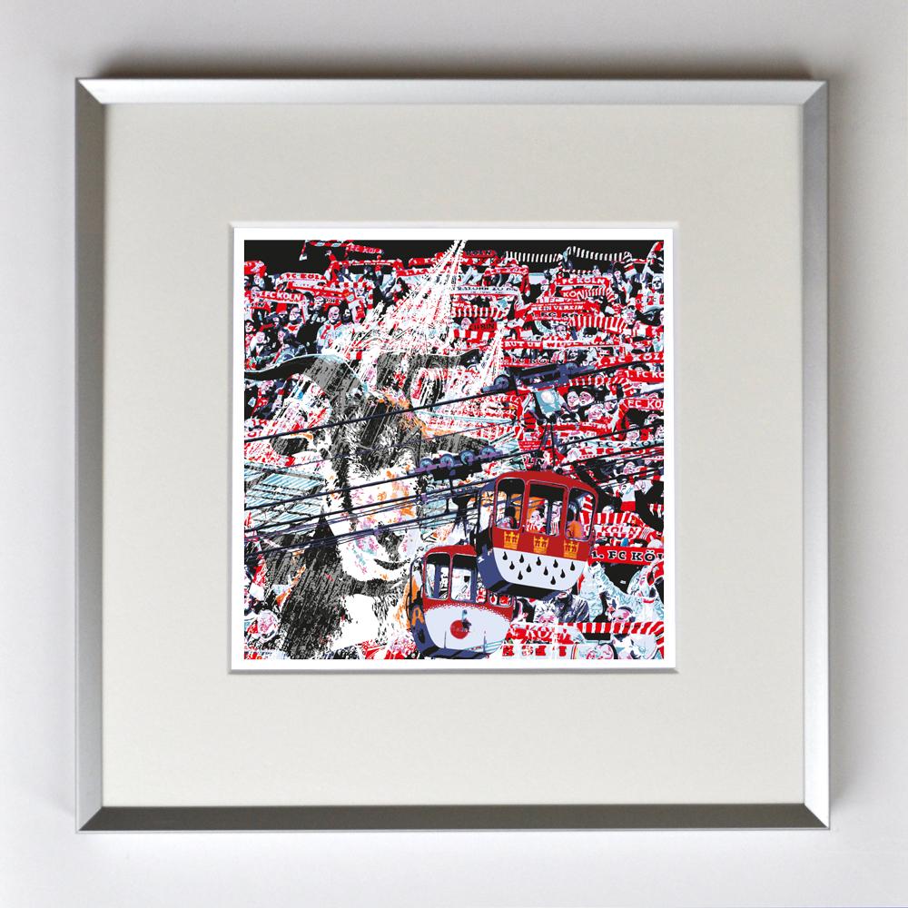 FC Köln, Liebe deine Stadt, Fans, Hennes, Seilbahn und Dom